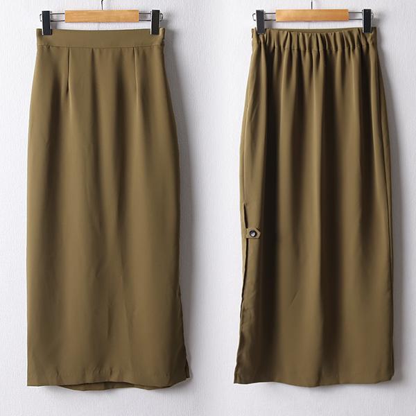 107 노멀슬릿H밴딩스커트 DNND893 도매 배송대행 미시옷 임부복