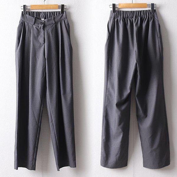 107 쿨밴딩핀턱라인슬랙스 DNND905 도매 배송대행 미시옷 임부복