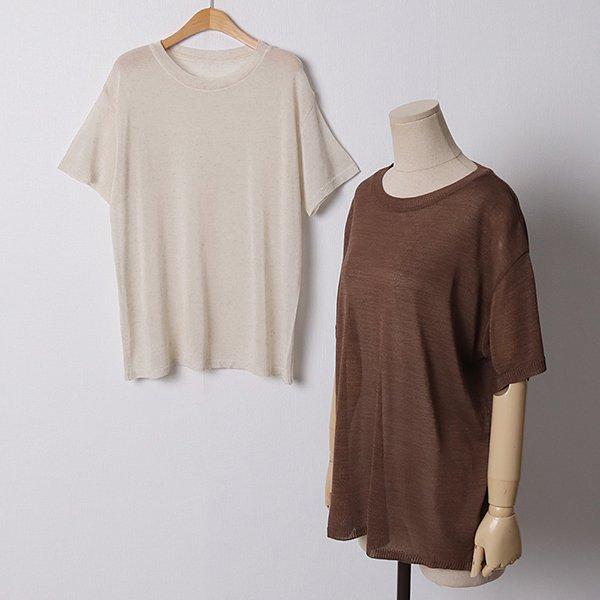 107 쿨라운드넥반팔티셔츠 DEBD911 도매 배송대행 미시옷 임부복