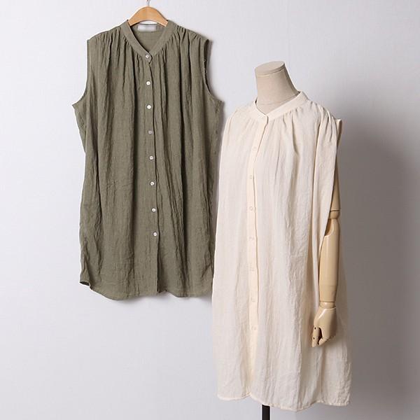 107 베이직롱나시블라우스 DIRD920 도매 배송대행 미시옷 임부복