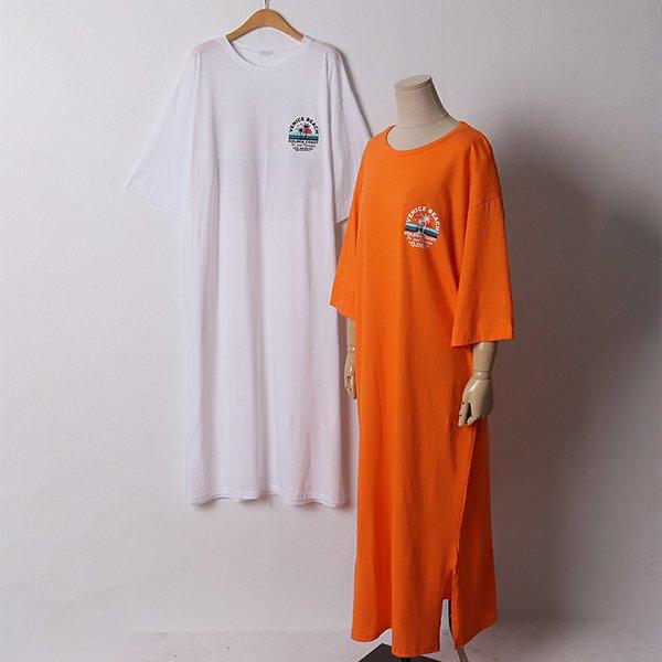107 밑단트임루즈핏원피스 DMOD924 도매 배송대행 미시옷 임부복