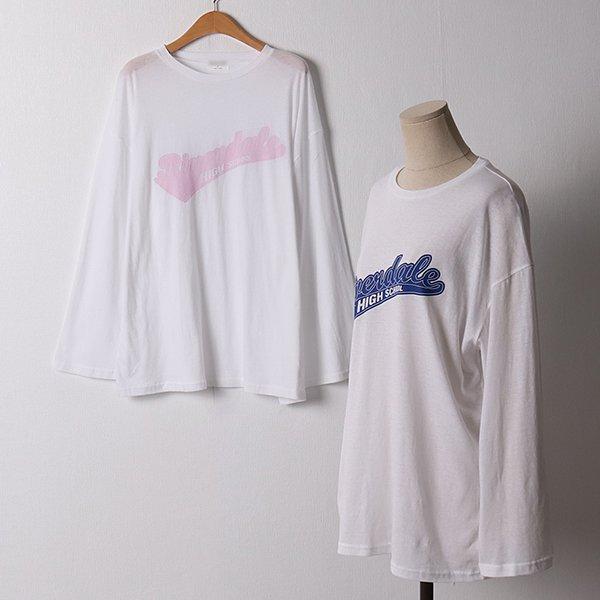 107 루즈핏썸머긴팔티셔츠 DMOD932 도매 배송대행 미시옷 임부복