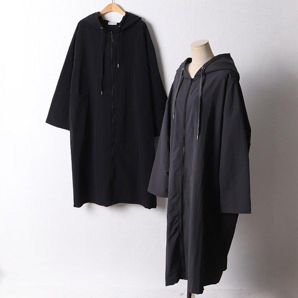 108 루즈가오리후드자켓 DRAF057 도매 배송대행 미시옷 임부복