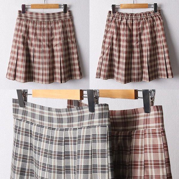 108 데일리체크팬츠스커트 DLTF107 도매 배송대행 미시옷 임부복