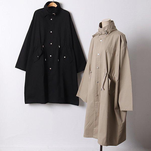 108 오버하이넥코튼롱야상 DLYF115 도매 배송대행 미시옷 임부복