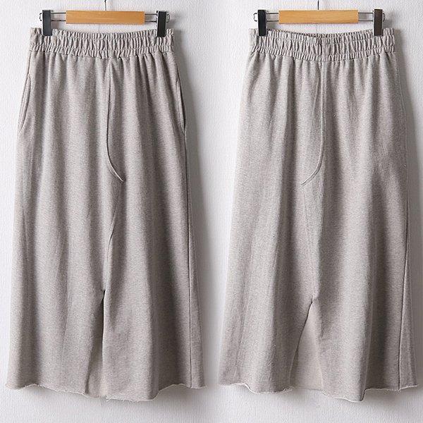 108 밑단컷팅쭈리스커트 DDLF134 도매 배송대행 미시옷 임부복