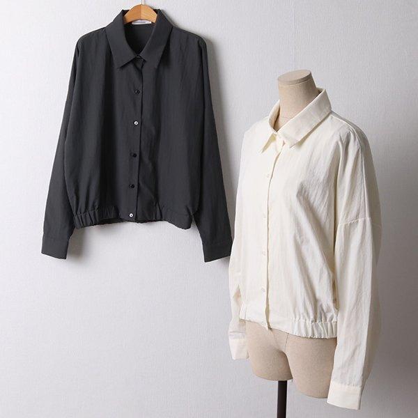 109 심플밴딩바람막이점퍼 DNNF171 도매 배송대행 미시옷 임부복