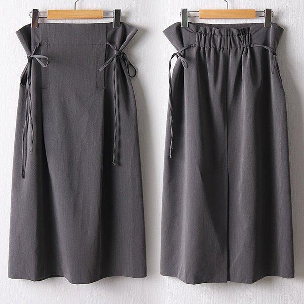 109 트임뒷밴딩롱끈스커트 DNNF174 도매 배송대행 미시옷 임부복