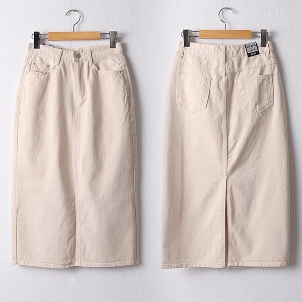 109 데일리트임코튼스커트 DLOF184 도매 배송대행 미시옷 임부복