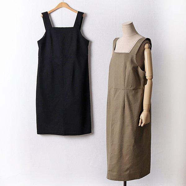 109 무지절개스퀘어원피스 DLYF306 도매 배송대행 미시옷 임부복