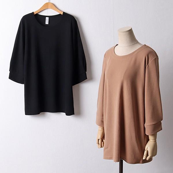 109 소매트임롱스판티셔츠 DGOF313 도매 배송대행 미시옷 임부복