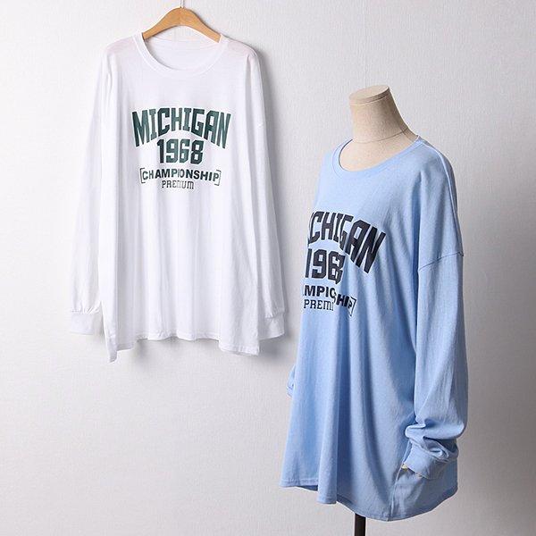 109 여리오버롱긴팔티셔츠 DNSF337 도매 배송대행 미시옷 임부복