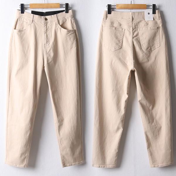 109 심플밴딩세미배기팬츠 DDOF342 도매 배송대행 미시옷 임부복