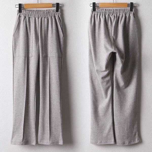 109 세로절개밴딩스판팬츠 DODF343 도매 배송대행 미시옷 임부복