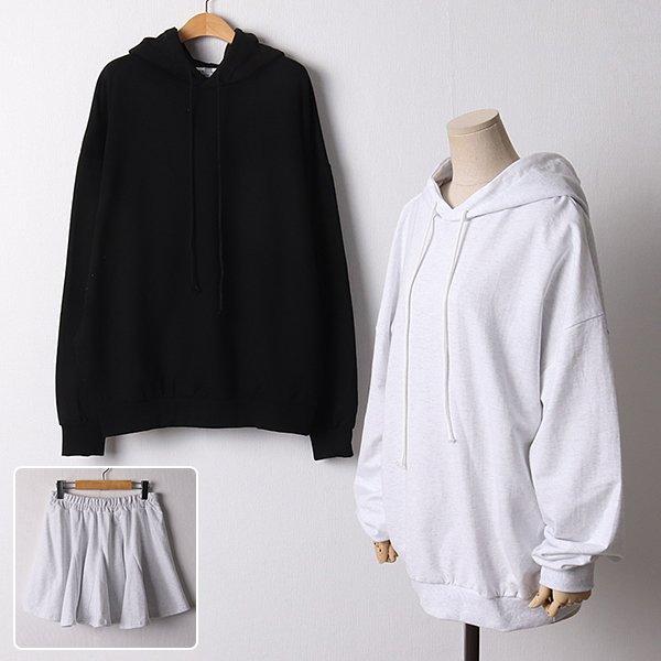 109 캐주얼후드스커트세트 DDLF351 도매 배송대행 미시옷 임부복
