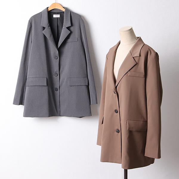 109 모던오버핏트임롱자켓 DCHF361 도매 배송대행 미시옷 임부복