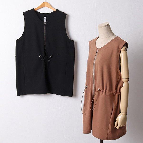109 베이직라운드지퍼조끼 DGOF368 도매 배송대행 미시옷 임부복
