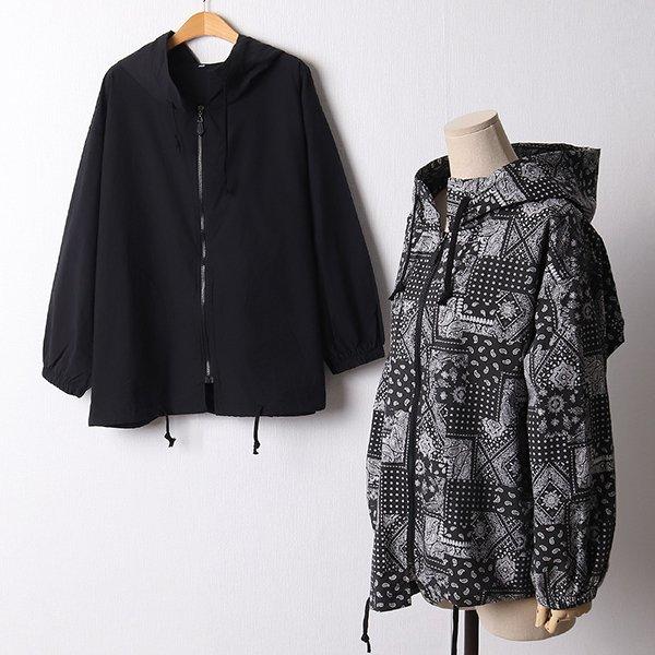 110 코튼후드바람막이점퍼 DMNF385 도매 배송대행 미시옷 임부복