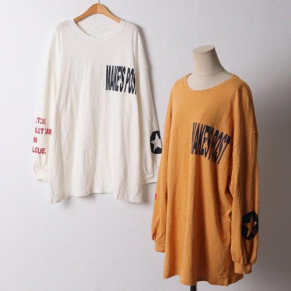 110 데일리나염루즈티셔츠 DKYF409 도매 배송대행 미시옷 임부복