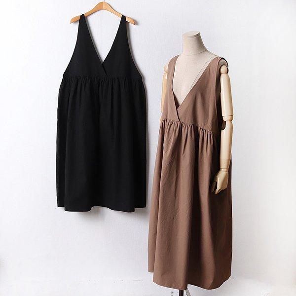 110 베이직셔링코튼원피스 DLTF413 도매 배송대행 미시옷 임부복