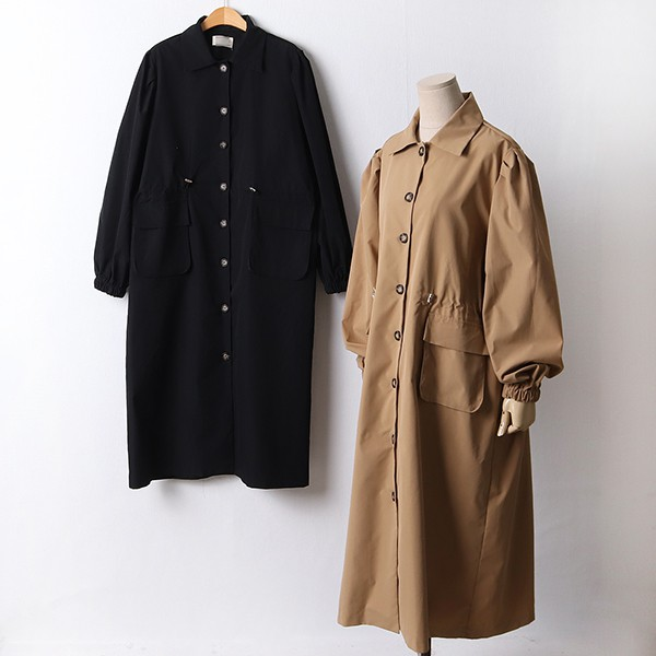 110 스트링포켓코트원피스 DGYF422 도매 배송대행 미시옷 임부복