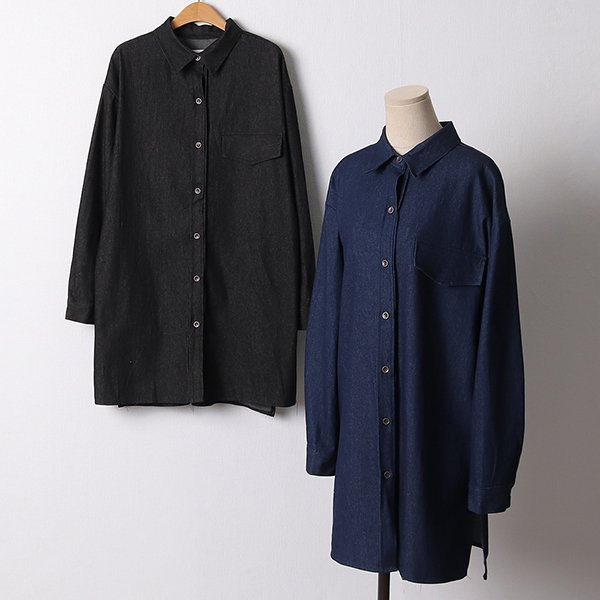 110 사이드트임데님원피스 DIRF430 도매 배송대행 미시옷 임부복