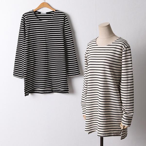 110 베이직롱단가라티셔츠 DRIF433 도매 배송대행 미시옷 임부복