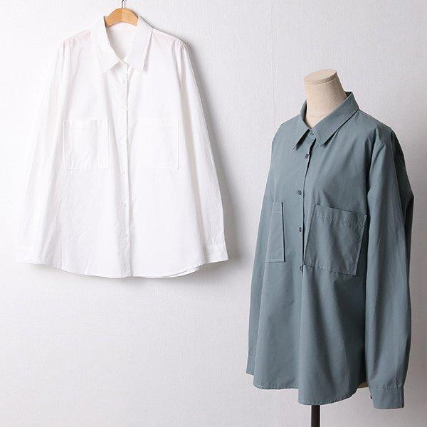 110 베이직코튼오버롱남방 DCHF439 도매 배송대행 미시옷 임부복