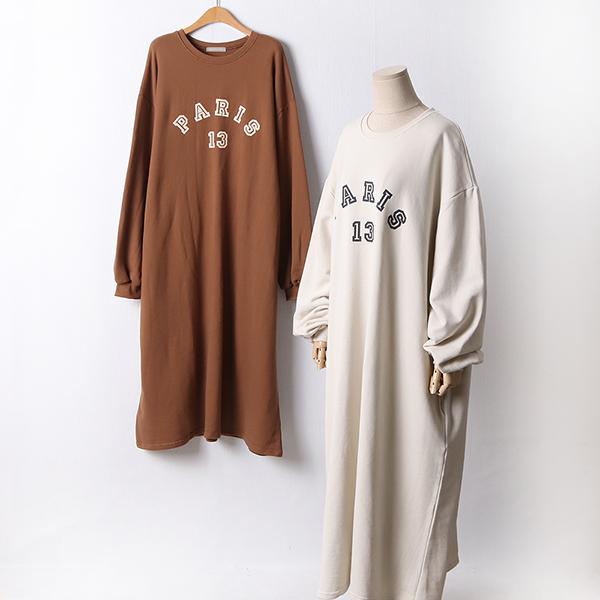 110 심플포켓롱코튼원피스 DLYF453 도매 배송대행 미시옷 임부복