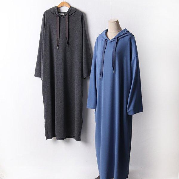 110 심플스트링후드원피스 DRAF455 도매 배송대행 미시옷 임부복