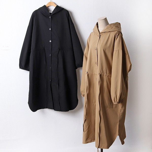110 심플루즈코튼후드자켓 DRAF457 도매 배송대행 미시옷 임부복