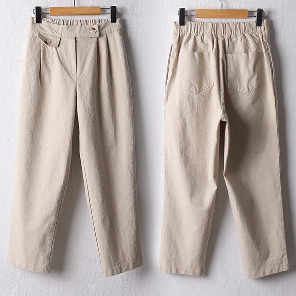 110 코튼밴딩버튼배기팬츠 DMDF460 도매 배송대행 미시옷 임부복