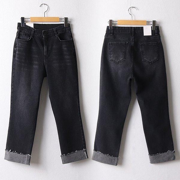 110 스판밴딩워싱일자팬츠 DDOF462 도매 배송대행 미시옷 임부복