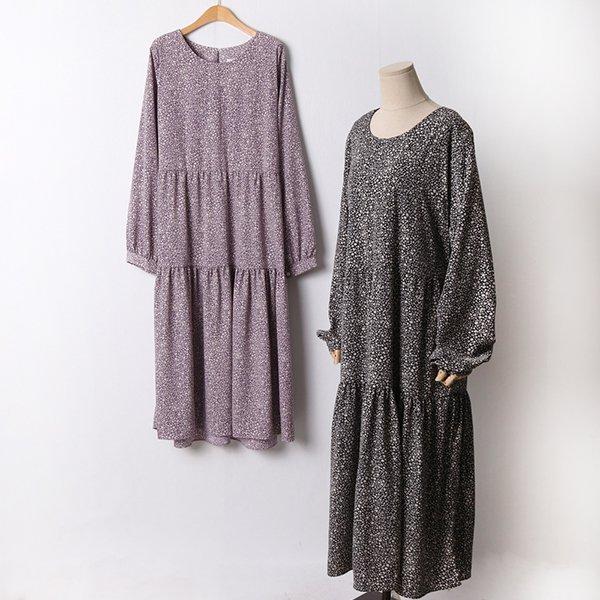110 페미닌플라워롱원피스 DCHF470 도매 배송대행 미시옷 임부복