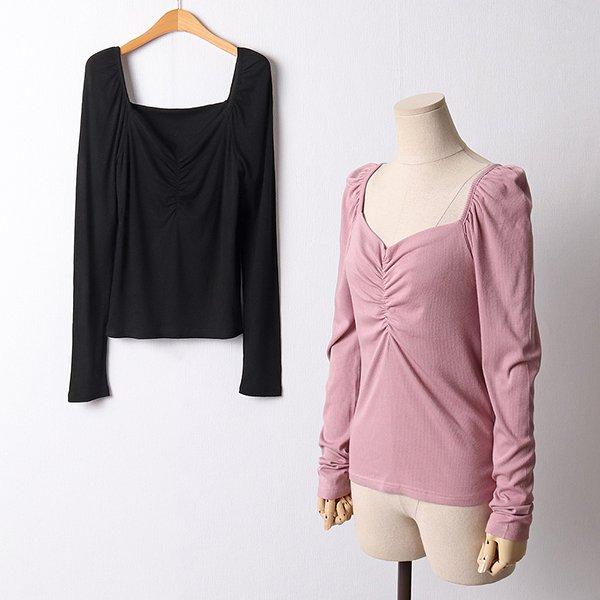 110 러블리골지스판티셔츠 DYPF476 도매 배송대행 미시옷 임부복