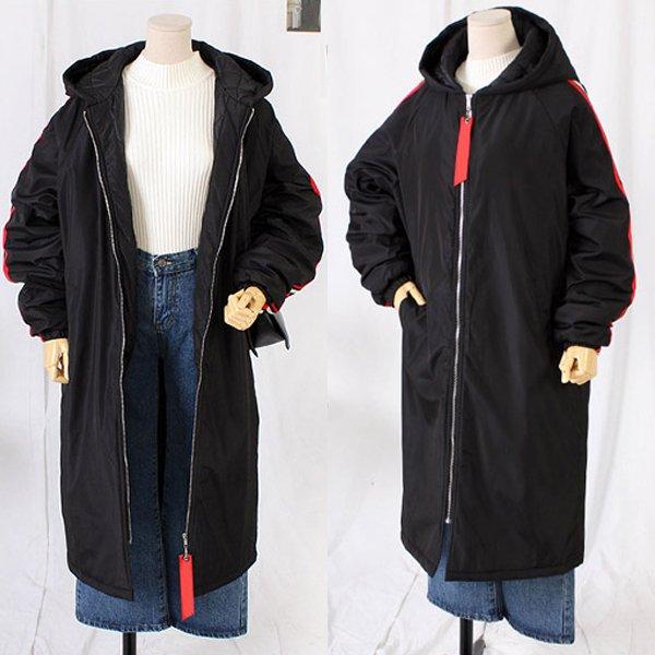 두줄벤치롱패딩점퍼 TW7602M912  도매 배송대행 미시옷 임부복