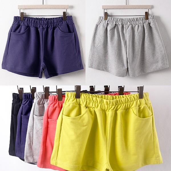 탄탄 면 컬러 반바지 GO0021RM906  도매 배송대행 미시옷 임부복