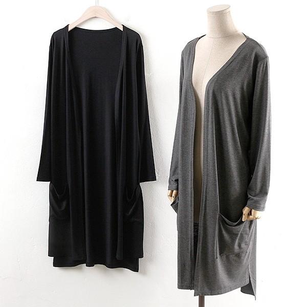 부드러운 오픈롱가디건 WWw027M905  도매 배송대행 미시옷 임부복