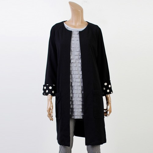 땡땡 롤업 롱 자켓 MN0141RM905  도매 배송대행 미시옷 임부복