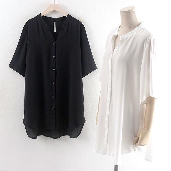 내츄럴쉬폰롱블라우스 HG0176RM906  도매 배송대행 미시옷 임부복