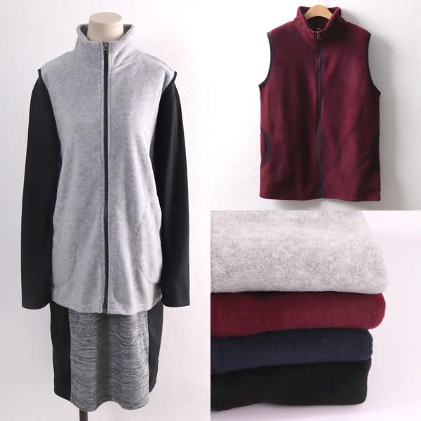 후리스랍바배색조끼 MNw128M901  도매 배송대행 미시옷 임부복