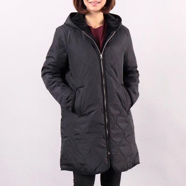 물결 후드 누빔패딩 BN3675M812  도매 배송대행 미시옷 임부복