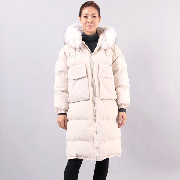 풍성후드롱패딩점퍼 WC3732M812  도매 배송대행 미시옷 임부복
