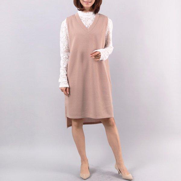 심플브이조끼원피스 WW4298M902  도매 배송대행 미시옷 임부복