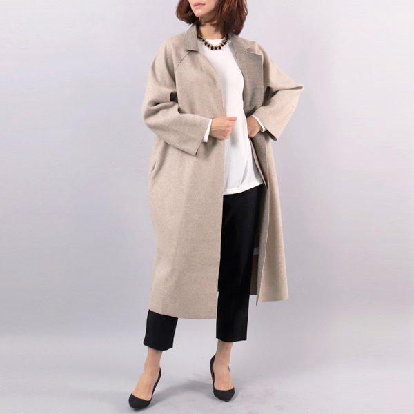심플리 오트밀 코트 LS4376M902  도매 배송대행 미시옷 임부복
