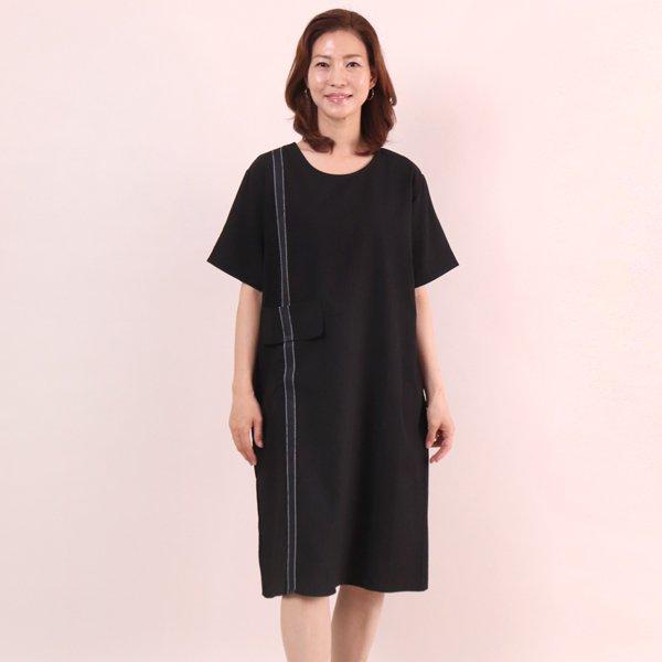온리원포켓띠원피스 WC5504M906  도매 배송대행 미시옷 임부복