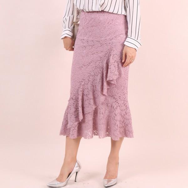 럭셔리레이스스커트 CM6304M909  도매 배송대행 미시옷 임부복