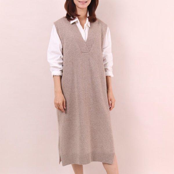 루즈핏조끼롱원피스 PE6957M911  도매 배송대행 미시옷 임부복