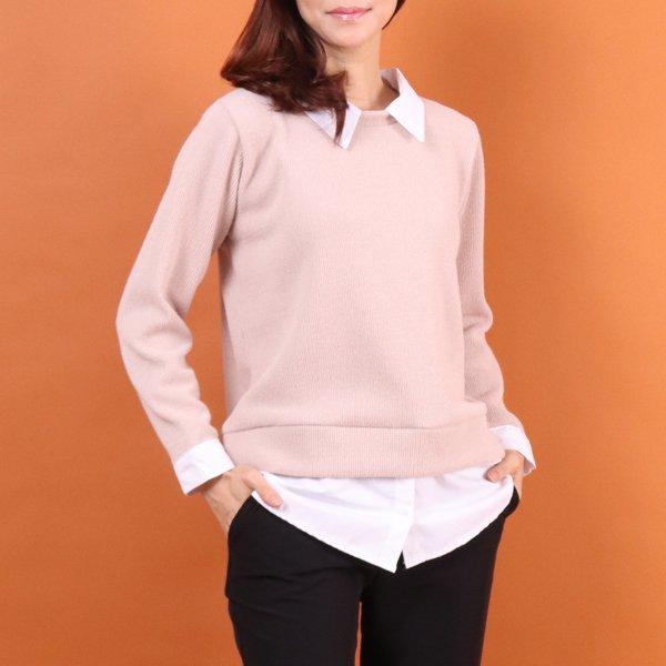 레이어드골지셔츠 CO7937M002  도매 배송대행 미시옷 임부복