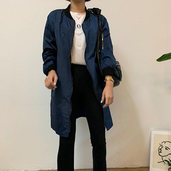 빅사이즈 항공롱바람막이자켓 IR3260M005 도매 배송대행 미시옷 임부복